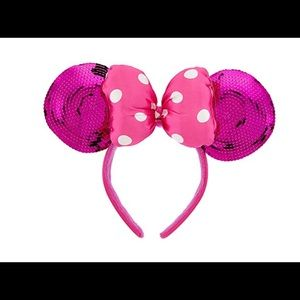Disney Minnie Mouse sequin padded ears